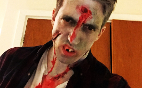Dean the zombie in charge